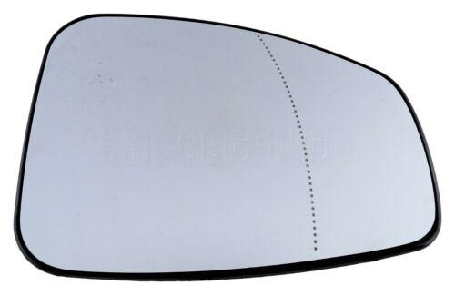 Right Side Heated Door Mirror Glass Aspheric 2010-2017 Renault Latitude L70