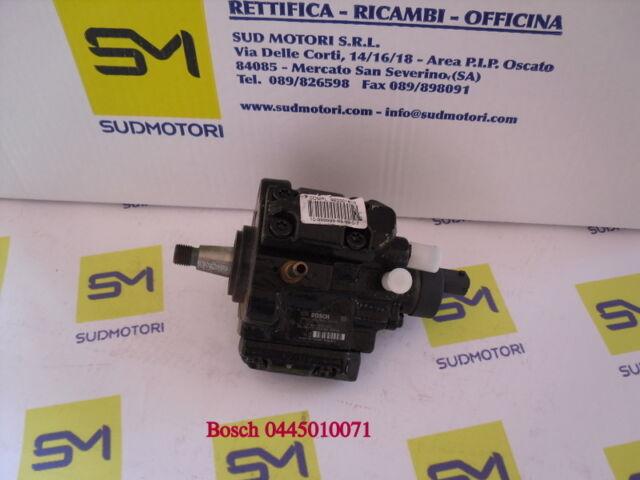 Pump Injection Bosch Common Rail Alpha Fiat Lancia 1.9 JTD 16V 0445010071
