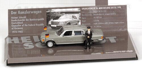 MINICHAMPS MERCEDES  BENZ 350 SEL  Helmut Schmi 1 43 436039200  grand choix et livraison rapide