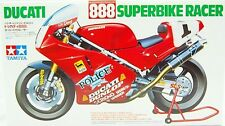 Tamiya 14063 1/12 Scale Model Kit Ducati 888 Superbike Racer '92 D.Polen/Falappa