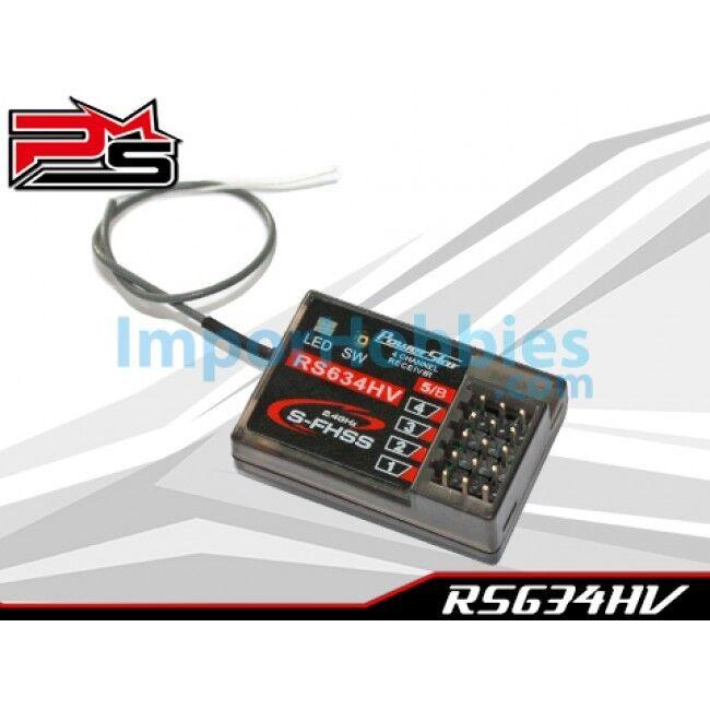 Receptor compatible Futaba 3PV   4PV   4PX   7PX S-FHSS PowerStar RS634HV