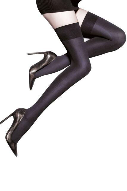 76ff738c5 Ladies 1 Pair Aristoc 80 Denier Opaque Hold UPS Medium large Black for sale  online