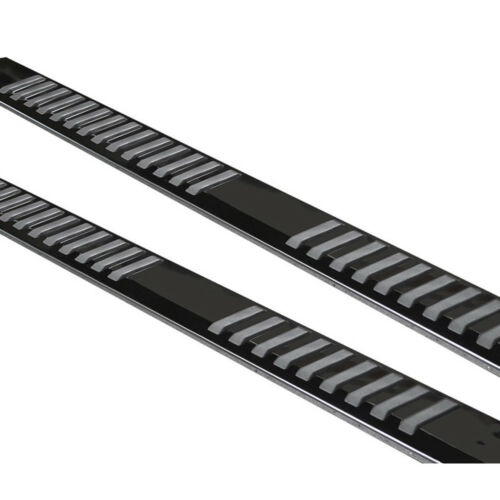 """6/"""" For 04-14 Ford F150 Super//Ext Cab Jet Blk SS Nerf Bar Side Step Running Board"""