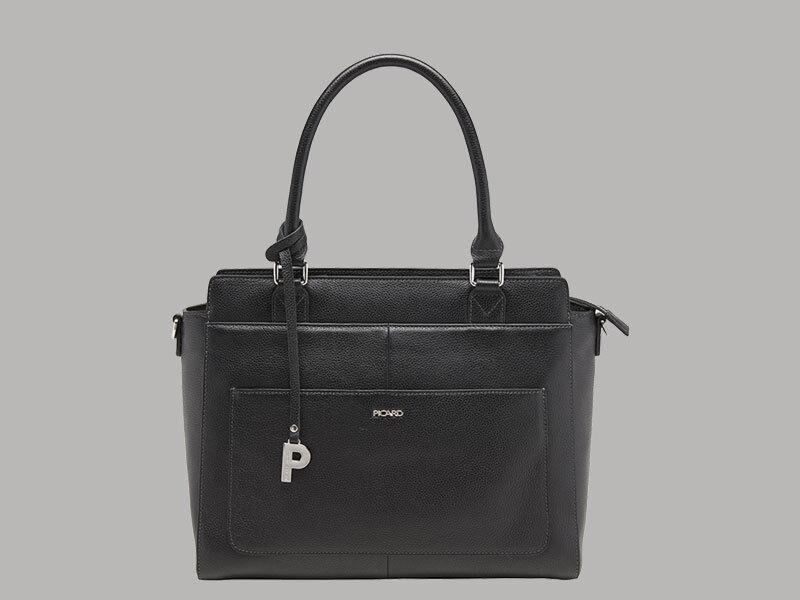 Picard jingle damen shopper rindleder 9343 schwarz    | Reichhaltiges Design  | Modern  | Kaufen