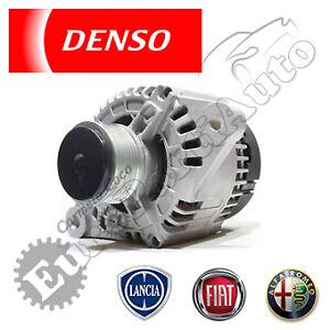 Alternatore-105A-nuovo-DENSO-Alfa-Fiat-Lancia-Motori-1-9-JTD-DAN501
