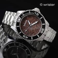 Rare LE Invicta Grand Diver Gen II Automatic Red Lava Rock Dial 47mm Men's Watch
