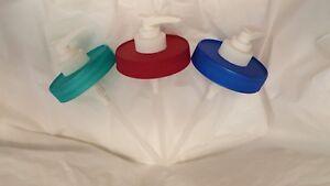 Plastic-Mason-Jar-Soap-Lotion-Condiment-Dispenser-Lid-Pump-Color-amp-Pack-Choice