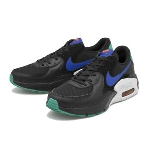 estético Fuera de borda rural  Men's Nike Air Max Excee Black/Hyper Blue-Neptune Green CD165 002 Brand New  | eBay
