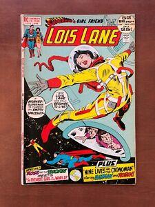 Superman-s-GirlFriend-Lois-Lane-123-1972-7-0-FN-DC-Key-Issue-Bronze-Age-Comic