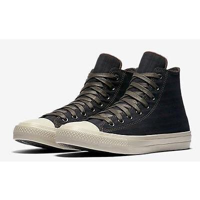 Converse Chuck II by John Varvatos CTAS 2 Striped High Top Sneaker BROWN 153892C