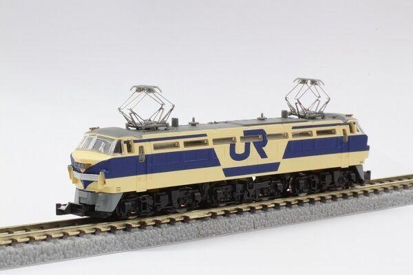 Rokuhan T008-2 Electric Locomotive JR EF66 Trial Color Version - Z
