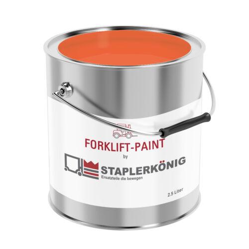 grau Farbe|Lack|Paint Forklift Hyundai Gabelstapler gelb orange blau