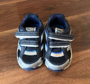 d2451f15d0 Saucony Baby Cohesion GT H&L Blue Leather Sneakers ~ Toddler Boys 5 ...