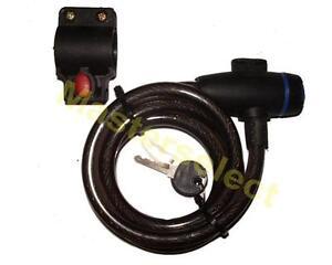Câble Antivol Pour Velo Avec Attache Support Pour Cadre