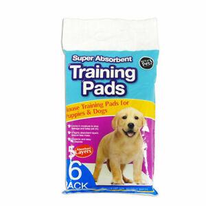Avoir Un Esprit De Recherche 6 Pack Super Absorbant Premium Puppy Dog Training Pads-afficher Le Titre D'origine