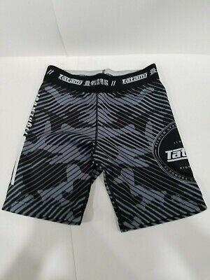 Tatami Renegade Grey Camo MMA BJJ No Gi Competition Fight VT Vale Tudo Shorts