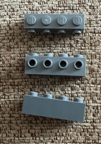 3 x 30414//4210725 Dark Grey 1x4 con borchie 4 su 1 Lato LEGO RICAMBI
