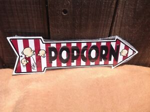 """Homemade Ice Cream This Way To Arrow Sign Directional Novelty Metal 17/"""" x 5/"""""""