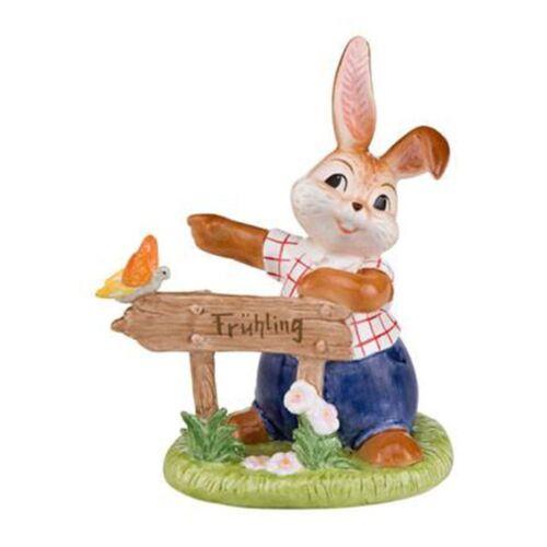Goebel Hier geht/'s zum Frühling Ostern Hase Goebelhase Osterfigur