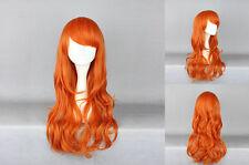 Ladieshair Cosplay Wig Parrucca Arancione 60cm Onepiece Nami two years CARNEVALE GTC