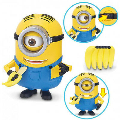 Banana Munching Stuart 20184 Minions Deluxe Action Figure