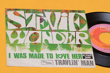 """STEVIE WONDER 7"""" 45 I WAS TO LOVE HER ORIG ITALY 1967 MINT UNPLAYED TOP COLLECTO"""