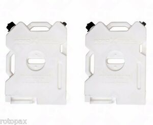 SET OF 2 Rotopax 2 Gallon Water Pack fits Jeep's and ATV  Polaris RZR Outdoor