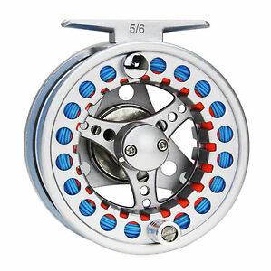 3-4-5-6-7-8WT-Fly-Reel-and-Line-Combo-Aluminum-Fishing-Reel-amp-Fly-Line-amp-Leader