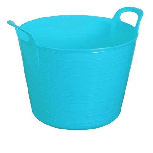 42 L 42 L Large Flexi Cuve Jardin Souple Rangement couleur Seau Bleu ciel
