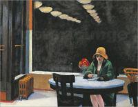 Poster / Leinwandbild Automat - Edward Hopper