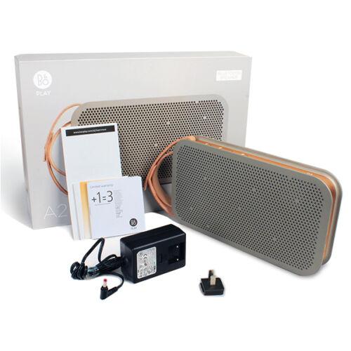 1 of 1 - B&O Bang & Olufsen BeoPlay A2 Bluetooth Mobile Speaker - Grey (iPhone iPad etc)