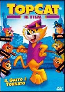 Top-Cat-Il-film-2011-DVD-Rent-Nuovo-Topcat-il-Gatto-e-Tornato-Dibble-Benny
