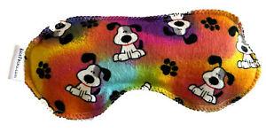 Rainbow Dog Eye Rice Pad Hot Cold You Pick A Scent Microwave Pad Reusable