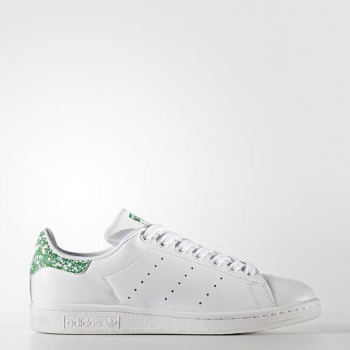 adidas bz0407 männer originale stan smith laufschuhe weiß - grüne turnschuhe