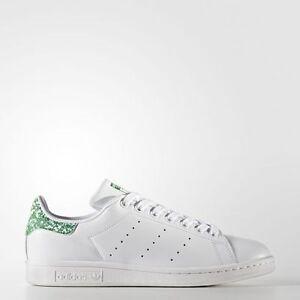 adidas bz0407 uomini originali stan smith scarpe bianco verde
