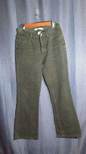 Tommy-Hilfiger-Jeans-Black-Flare-Leg-Women-039-s-Size-10