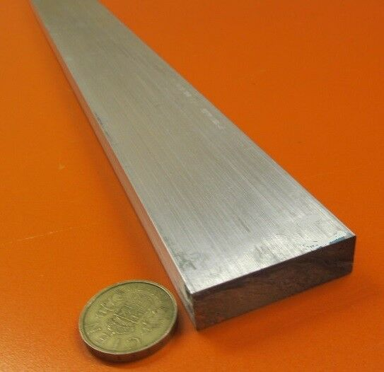 "1//2/"" x 4/'/' Aluminum 6061 Flat Bar 36/"" length"
