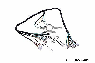 12v Complete wire harness loom for Honda cub C50, C70, Pport, C90 (12V on