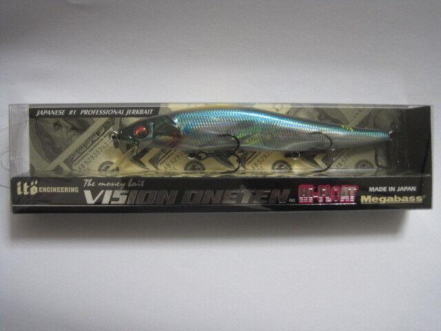 Megabass ITO VISION ONETEN 110 Hi-Float HAMA blueE color Limited NIB