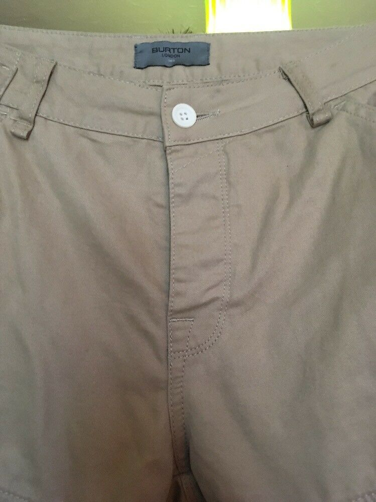 Burton Style Chino Pantalon, Taille 36 36 36 S ed1b56