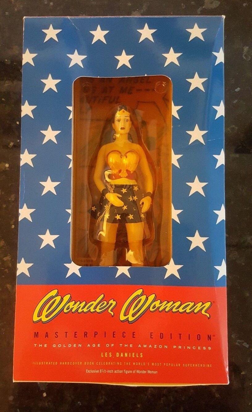Wonder woman - meisterwerk ausgabe vintage - actionfigur & hc buch, siehe bilder
