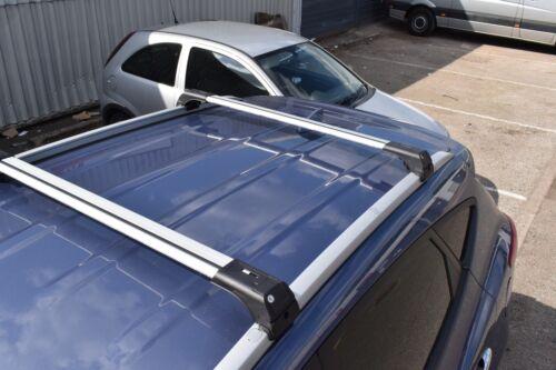 Ford Transit Conectar Antirrobo De Aluminio Barra Transversal Rack 75 kg Gris
