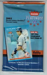 2002-Fleer-Platinum-8-Pack-Hobby-Lot