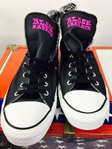 Converse All Star Chucks UE 45 UK 11 Black Sabbath paranoica Limited Edition Ozzy