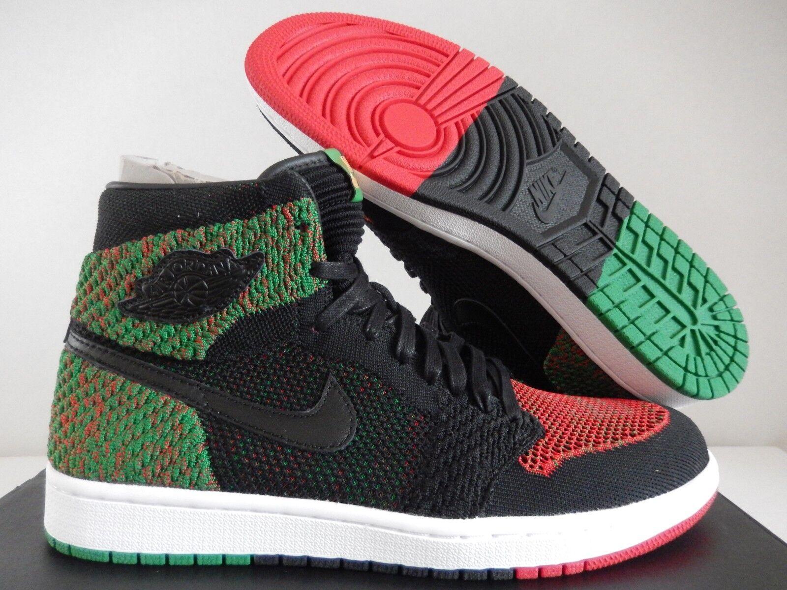 Nike Air Flyknit Jordan 1 Retro Alta Flyknit Air BHM multi color [AA2426026] 591dae