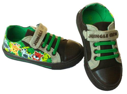 Jungle Crew Ruler canvas  boys shoes