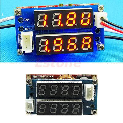 5A Adjustable Power CC/CV Step-down Charge Module LED Driver Voltmeter Ammeter