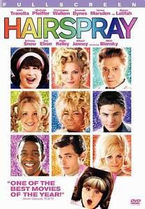 Hairspray Dvd 2007 Full Frame John Travolta Michelle Pfeiffer Free Ship 794043110894 Ebay