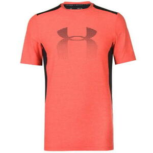 33297b360 Under Armour Men's Raid Graphic Short Sleeve Red/Black T Shirt Extra ...