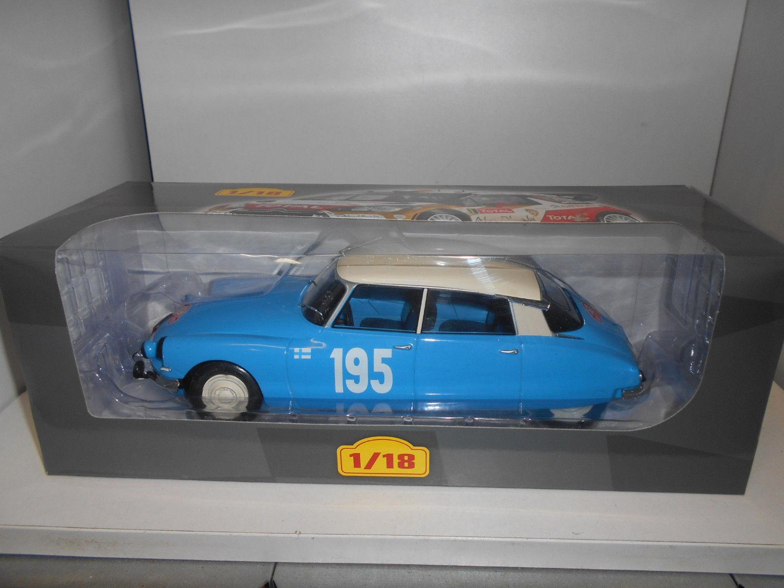 tiendas minoristas 1 18 Citroen DS 21 Rally Rally Rally Monte Cochelo 1966 P.Toivonen Ixo Altaya Neuf Boite  gran venta